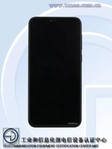 Imagen frontal Nokia X
