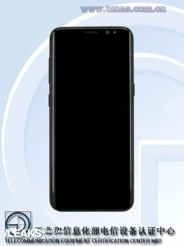 Imagen frontal del Samsung Galaxy S9 mini