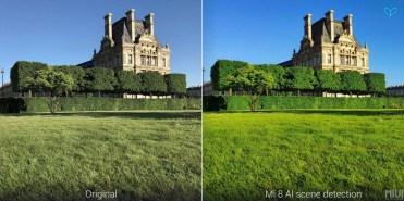 Comparativa uso IA del Xiaomi Mi 8