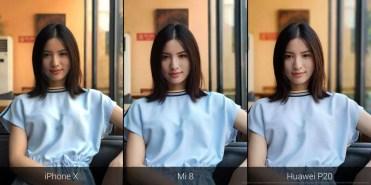 Uso de IA en el Xiaomi Mi 8