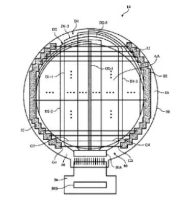 Patente Apple para pantalla circular en el Apple Watch