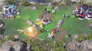 Interfaz deljuego Command & Conquer: Rivals