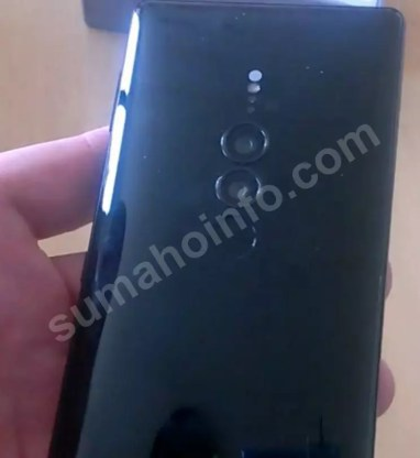 Sony Xperia XZ3 posterior