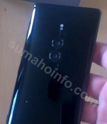 Imagen trasera del Sony Xperia XZ3