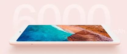 Lateral del Xiaomi Mi Pad 4
