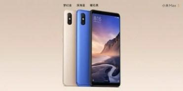 Diseño del Xiaomi Mi Max 3