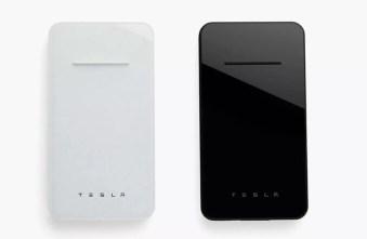 Colores de la batería externa Tesla Wireless Charger