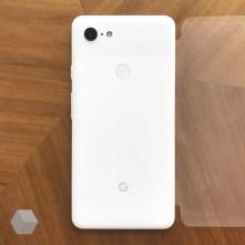 Imagen posterior del Google Pixel 3 XL