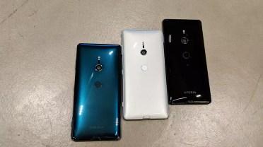 Gama de colores del Sony Xperia XZ3