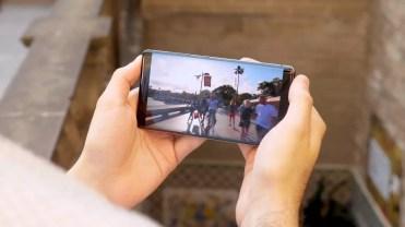 Pantalla del Nokia 8 Sirocco