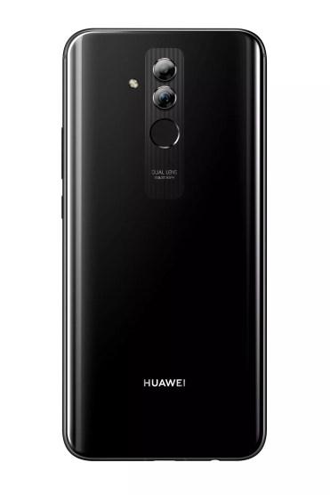 Trasera del Huawei Mate 20 Lite de color negro