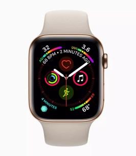Diseño del Apple Watch Series 4