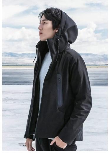 Diseño e la chaqueta de Xiaomi
