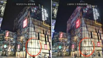 Ejemplo de fotos noche con el Xiaomi Mi Mix 3