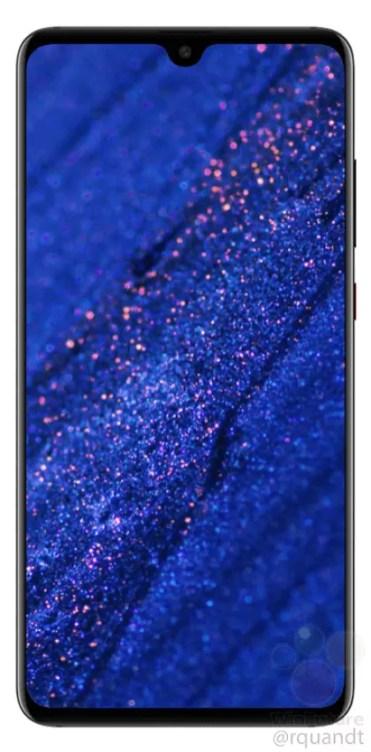 Imagen frontal del Huawei Mate 20 Pro