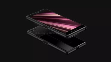 Frontal Sony Xperia XZ4 Compact