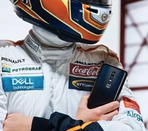 Uso del teléfono OnePlus 6T McLaren Edition
