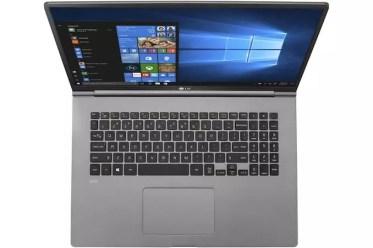 teclado integrado en el portátil LG Gram 17