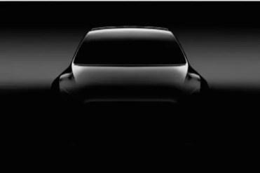 Imagen frontal Tesla Model Y