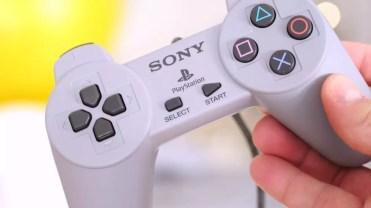 mando de la consola PlayStation Classic