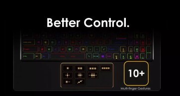 teclado en el MSI GS75 Stealth