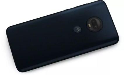 Imagen trasera del Moto G7 Plus