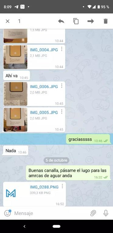 Borrar mensaje en telegram
