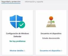 Acceder al mapa para ubicar un portátil con Windows 10