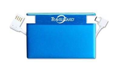 Travelcard color azul