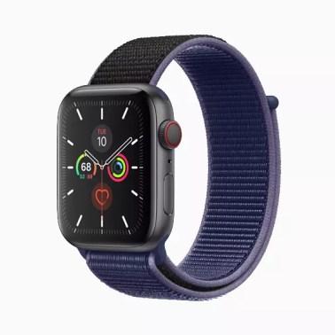Imagen del nuevo Apple Watch series 5