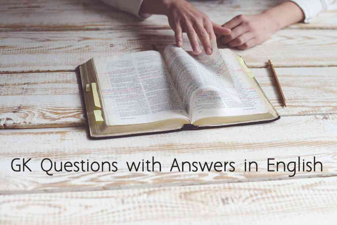 GK Questions with Answers in English