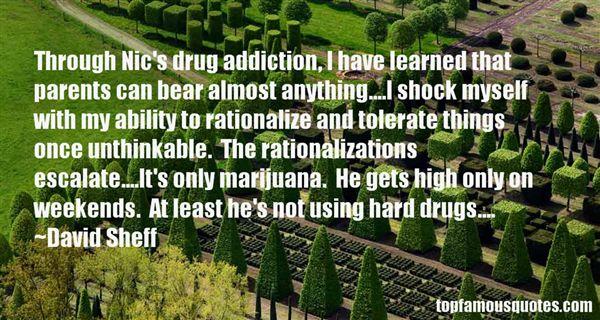Famous Quotes Drug Addiction