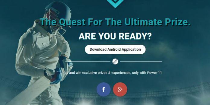 Fantasy Power 11 At no 8 in list of top fantasy cricket apps