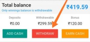 How To Withdraw Cash Prizes To The Bank Account?