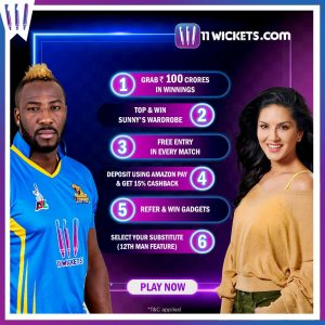 11Wickets Fantasy App Key Features