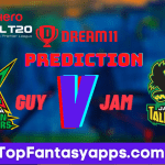 GUY vs JAM Dream11 Team Prediction For 12th Match CPL 2020 (100% Winning Team)