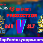 SLZ vs BAR Dream11 Team Prediction Today's Match CPL, 100% Winning