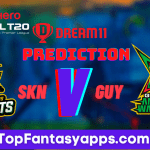 GUY vs SKN Dream11 Team Prediction Today's Match CPL, 100% Winning