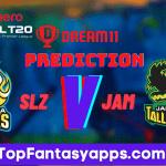 SLZ vs JAM Dream11 Team Prediction For 30th Match CPL 2020 (100% Winning Team)