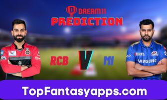 RCB vs MI Dream11 Team Prediction for Today's IPL Match, 100% Winning
