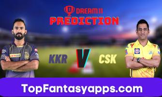 KKR vs CSK Dream11 Team Prediction for Today IPL Match,100% Winning