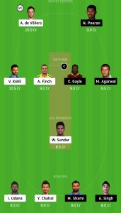 RCB-vs-KXIP-Dream11-Team-for-Grand-League