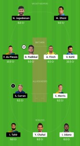 CSK-vs-RCB-Dream11-Team-for-Grand-League