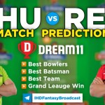 THU vs REN Dream11 Team Prediction Today's BBL Match, 100% Winning