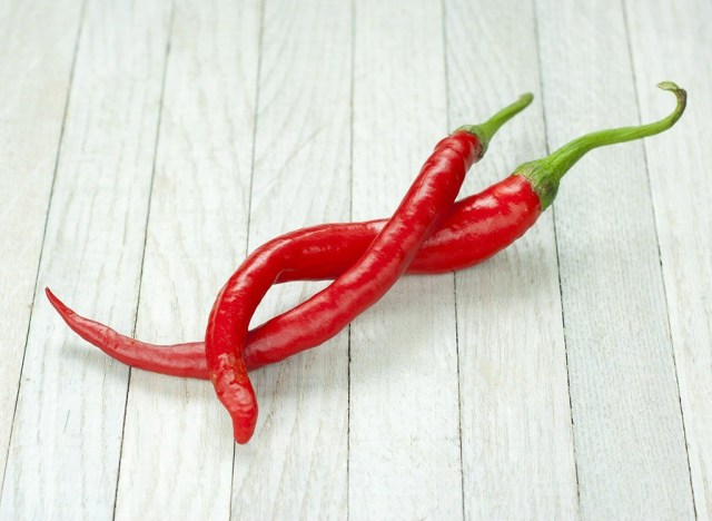 how to lose body fat - peppers