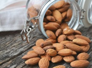 container almonds