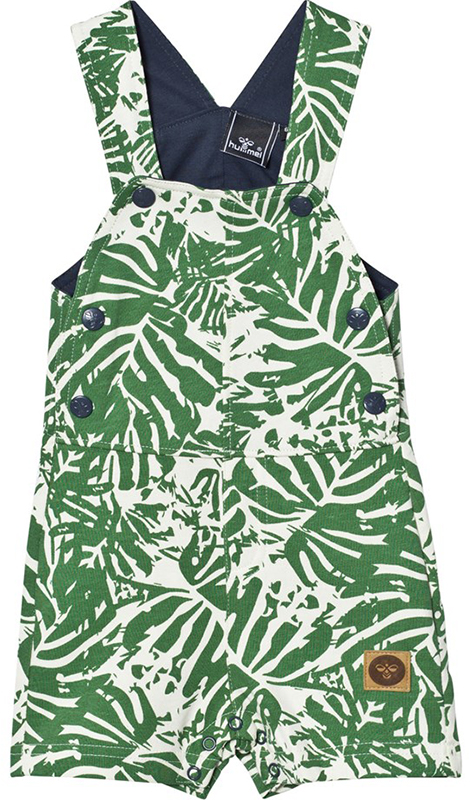 Hummel Green and White Wildfred Overalls