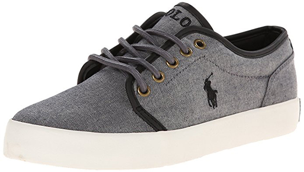 Polo Ralph Lauren Kids Ethan Low Lace-Up Sneaker