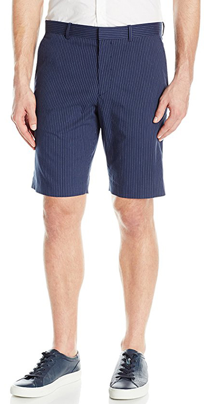 Theory Men's Jake W S cm Stripe Patterned Short
