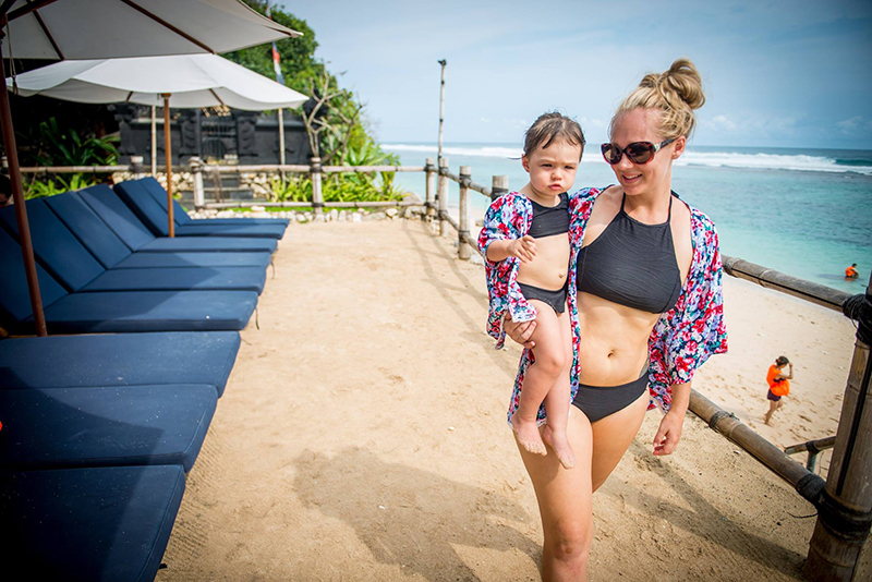 traveling to bali with a baby